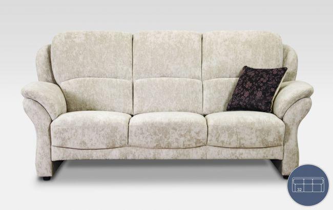 Elegant Sofa Neapel