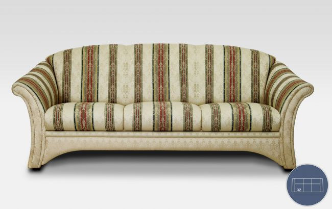 Klassische Sofas